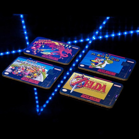 SNES Cartridge Coasters