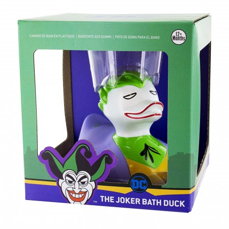 The Joker DC Comics Bath Duck