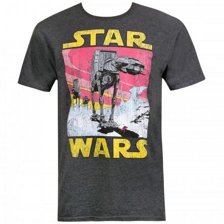 AT-AT Scene Star Wars Men's T-Shirt