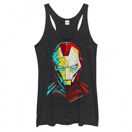 Iron Man Helmet Women's Tank Top