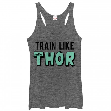 Train Like Thor Women's Tank Top