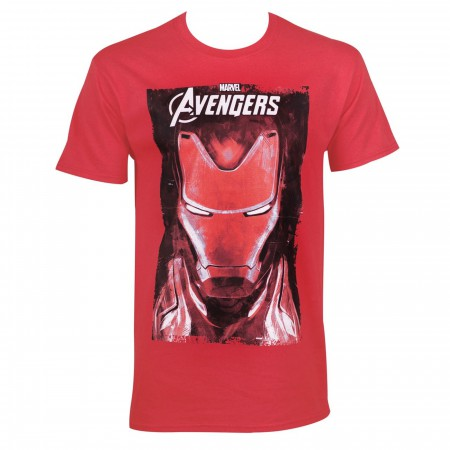 Iron Man Mask Avengers Endgame Men's T-Shirt
