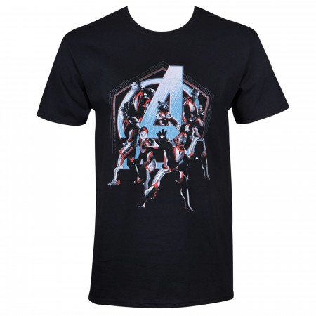 Avengers Endgame Quantum Armor Team Men's T-Shirt