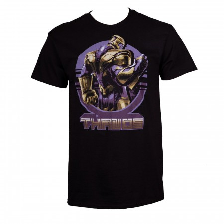 Thanos Warrior Stance Avengers Endgame Men's T-Shirt
