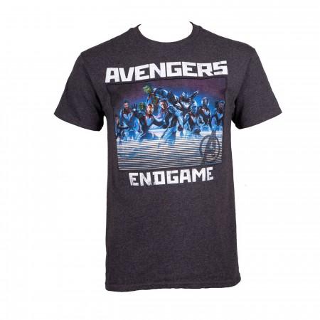 Avengers Endgame Heroes Lineup Men's T-Shirt