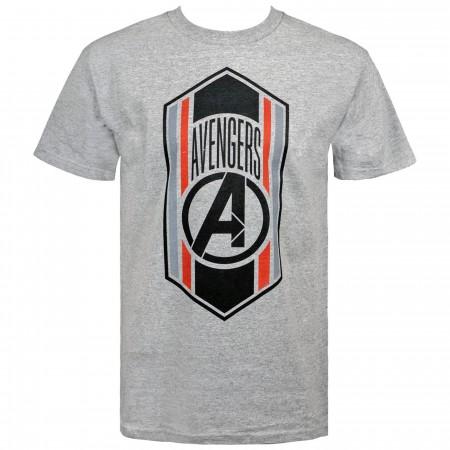 Avengers Endgame Quantum Armor Badge Men's T-Shirt