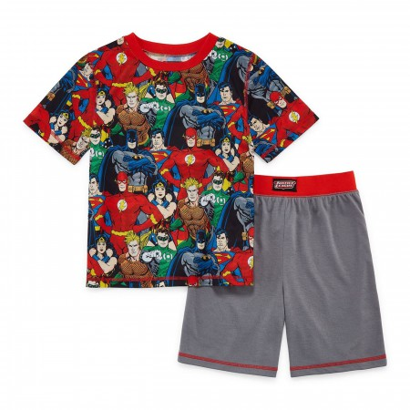 Justice League 2-Piece Youth Pajama Set