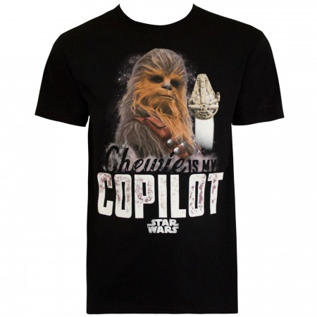 Star Wars Chewie is my Copilot Men's T-Shirt