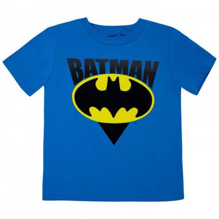 Batman Mesh Toddler Short Set