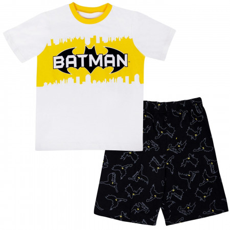 Batman Kids Shorts T-Shirt Set