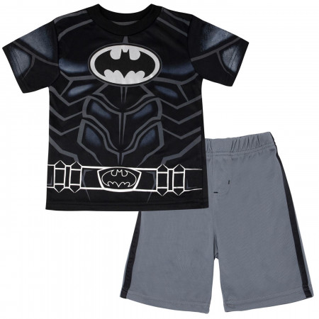 Batman Performance Costume Kids Short Set
