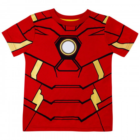 Iron Man Performance Costume Kids Short Set