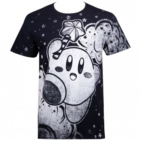 Kirby Sublimated Nintendo Men's T-Shirt