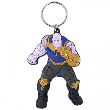 Thanos Soft Touch Key Ring