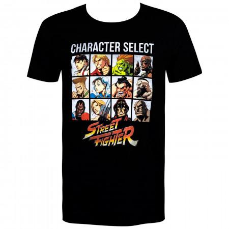 Street Fighter Character Select Men's T-Shirt