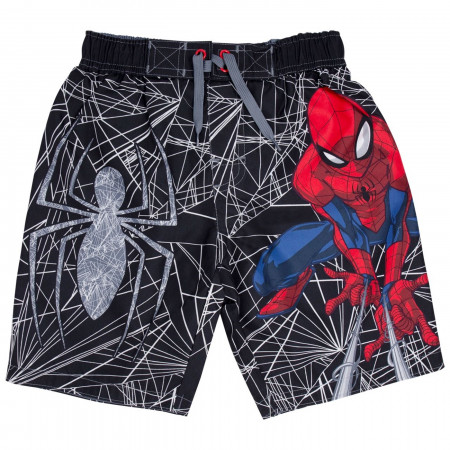 Spider-Man Kids Swim Trunks