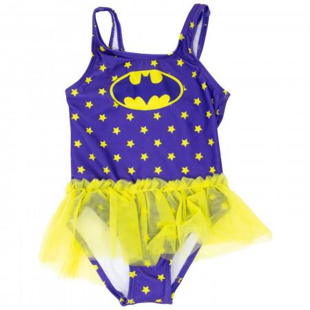 Batman Tutu Toddlers One Piece Swimsuit