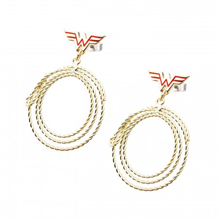 Wonder Woman Lasso Earrings