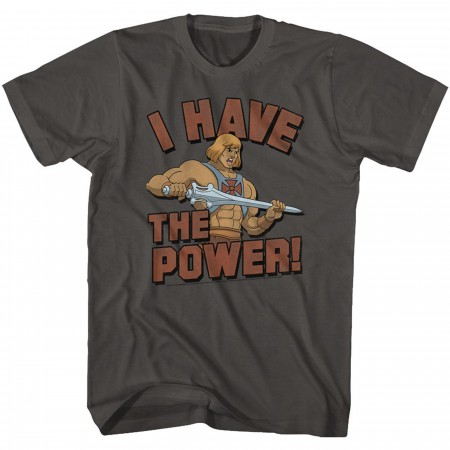 Masters of the Universe He-Man I Have The Power T-Shirt