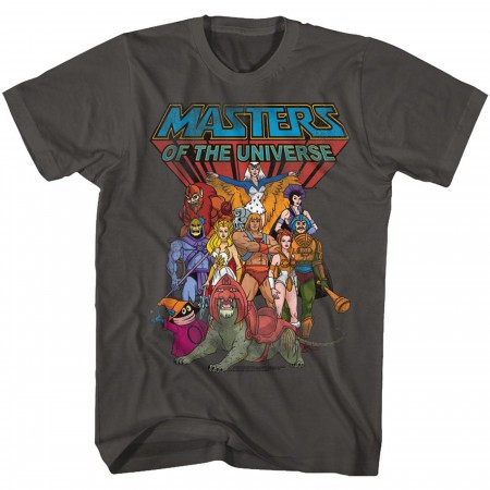 Masters of the Universe He-Man Cast T-Shirt