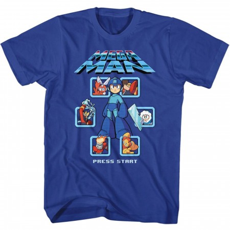 Mega Man Press Start T-Shirt