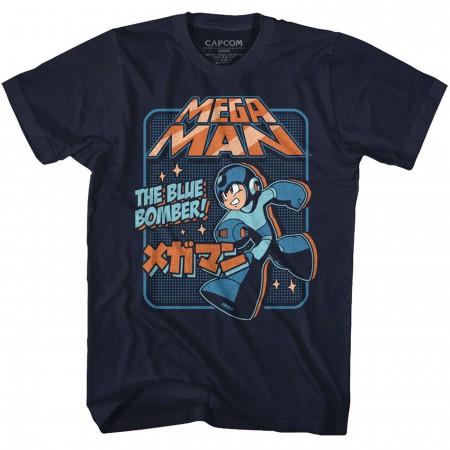 Mega Man The Blue Bomber T-Shirt