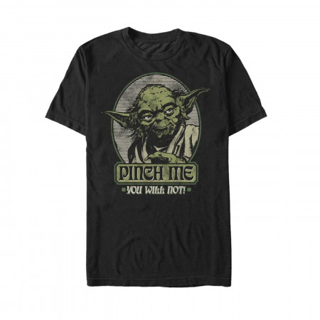 Star Wars Pinch Me Yoda St Patrick's Day T-Shirt