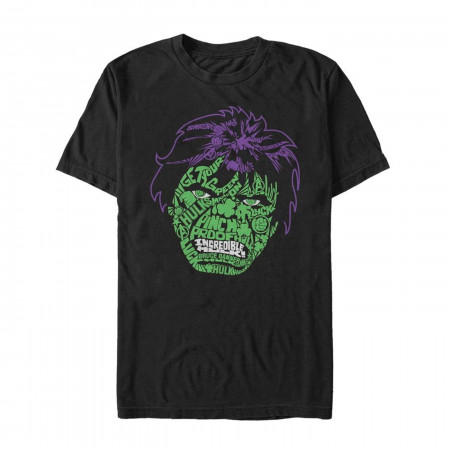 The Hulk Luck Icons St Patrick's Day Black T-Shirt
