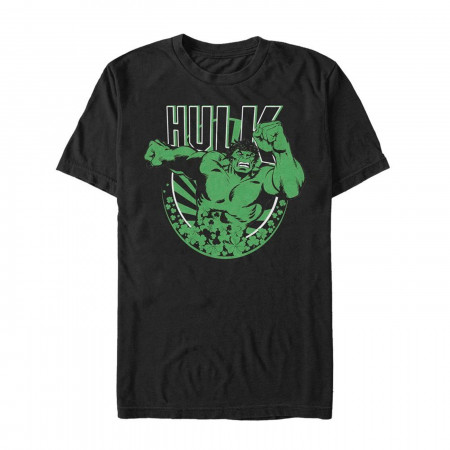 The Hulk Luck Black St Patrick's Day T-Shirt
