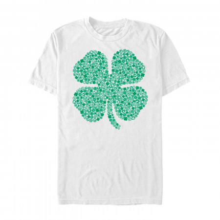 Marvel Shamrock Icons St Patricks Day T-Shirt