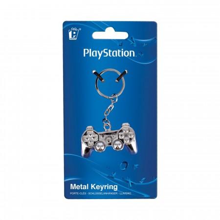 Playstation 3D Metal Keychain