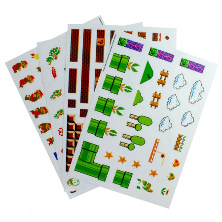 Super Mario Bros Gadget Decals