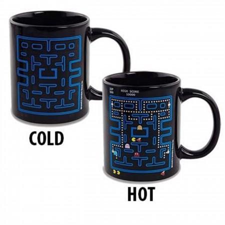 Pac-Man Maze Heat Change Mug