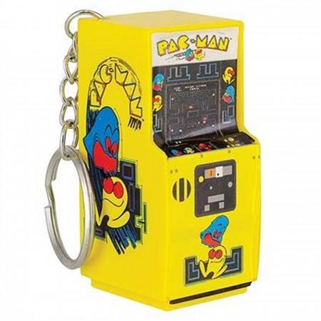 Pac-Man Arcade Keychain