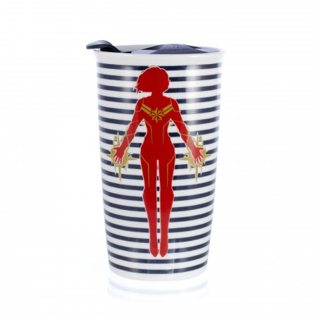 Captain Marvel Movie Tumbler