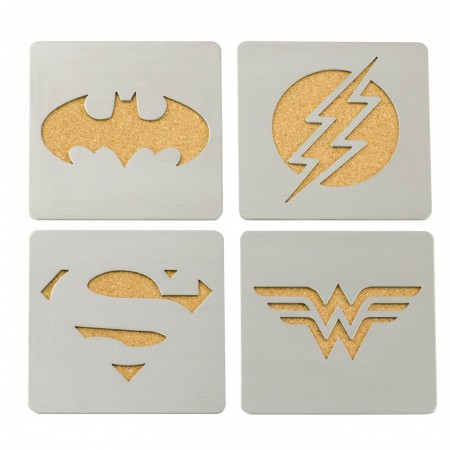 DC Comics Laser Cut Coasters