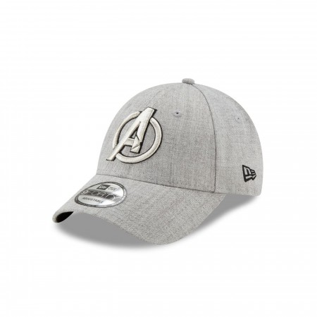 Avengers Symbol Grey New Era New Era 9Forty Adjustable Hat