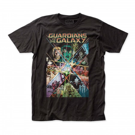 Guardians of the Galaxy Comic Cover Men's T-Shirt