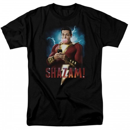 Shazam Movie Blowing Up Men's T-Shirt