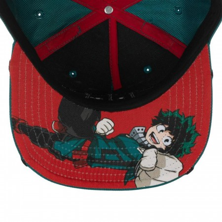 My Hero Academia Deku Inspired Suit up Snapback Hat