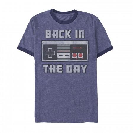 Nintendo Back In The Day Ringer T-Shirt