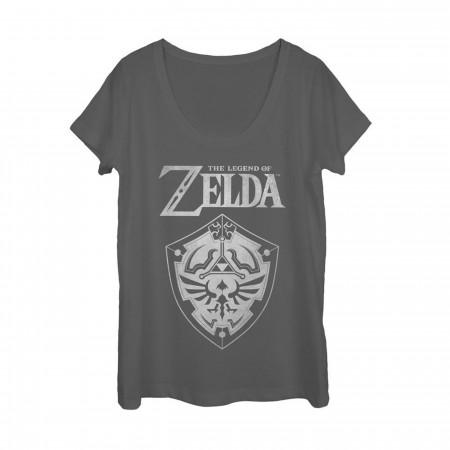Zelda Triforce Women's Fashion Body T-Shirt