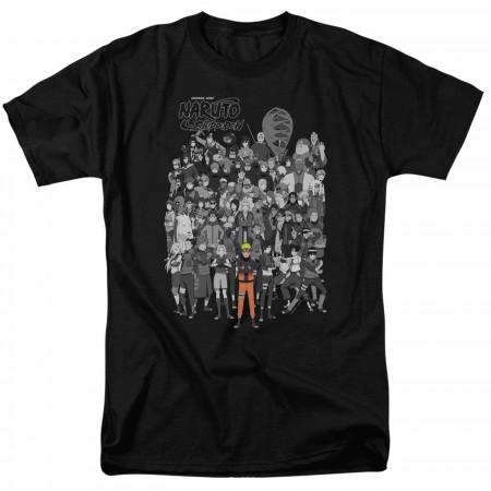 Naruto Shippuden Characters Men's T-Shirt