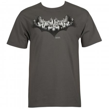 Batman 80th: City Symbol Men's T-Shirt