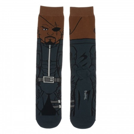Nick Fury 360 Character Crew Sock