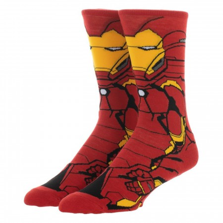 Iron Man 360 Character Crew Sock