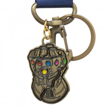 Avengers Endgame Thanos Infinity Gauntlet Lanyard