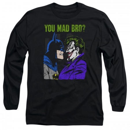 Mad Bro Batman Men's Long Sleeve Shirt