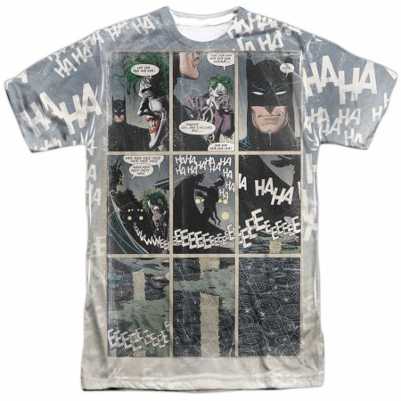 Batman Last Laugh Front Sublimated Men's T-Shirt