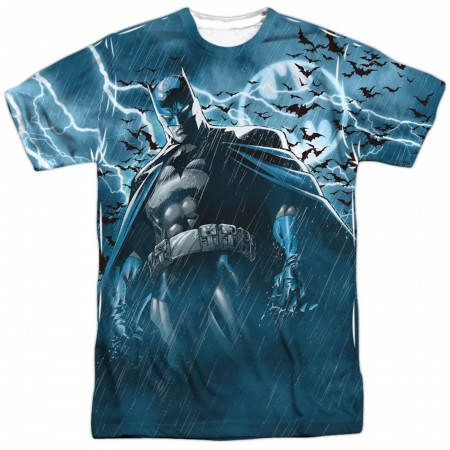 Stormy Knight Batman Front and Back Sublimated Men's T-Shirt
